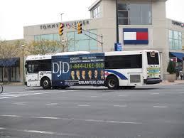 njt nabi bus on atlantic ave in atlantic city nj trolleys etc
