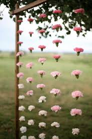 18 hanging flower displays for your wedding unique flower