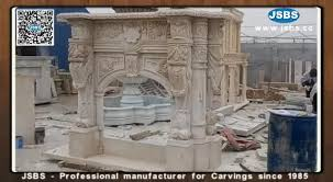 Cantera Stone Fireplaces by Cantera Stone Fireplace Js Fp001y Buy Cantera Stone Fireplace