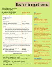 Strong Resume Summary How To Write A Strong Resume How To Write A Good Resume Summary