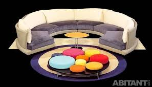 This Is Round And Curved Sofa With Original Accent Furniture Read - Curved contemporary sofa living room furniture