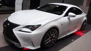 lexus sport car 2015 2015 lexus rc 300h f sport exterior and interior walkaround