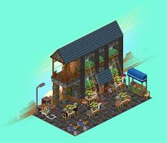 coffee shop habbocreate