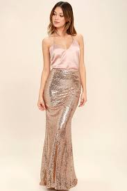 sequin skirt lovely gold skirt sequin skirt maxi skirt 74 00