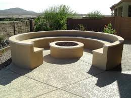 exterior modern patio design with exciting lowes fire pit kit