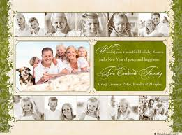 happiness collage card photo family design green ivory