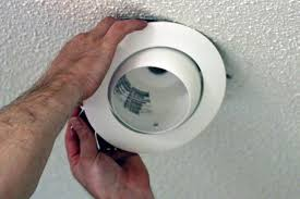 Install Can Lights In Existing Ceiling by How To Install Recessed Lighting How Tos Diy