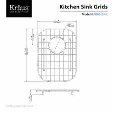 Kitchen Sink Protector Grid Kitchen Accessory Kraususa Com