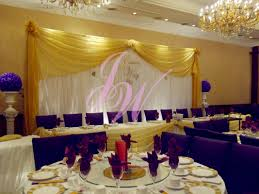 yellow and purple wedding decor pictures decorating of party