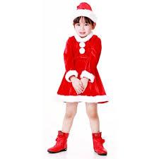 santa claus costume for toddlers santa princess kids dress children u0027s christmas costumes