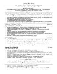 cover letter sample finance manager resume assistant finance