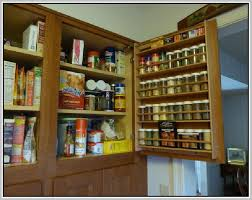 Kitchen Cabinet Door Storage by Kitchen Door Racks U0026 Tedd Wood Spice Storage On Inside Of Cabinet Door