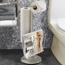 free standing toilet paper holders you ll wayfair