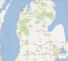Adrian Michigan Map by Sleeping Bear Dunes Map Adriftskateshop