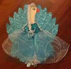 turkey up turkey in disguise as elsa by my and me we did it