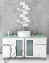 Glass Top Vanities Bathrooms 132 Best Single Sink Vanities Images On Pinterest Single Sink