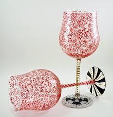 beautiful wine glasses what pretty painted wine glasses neethlingshof blog