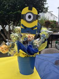 minions centerpieces 690 best centros de mesa fomi images on birthday