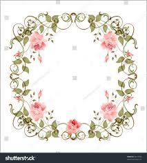 vintage floral frame eps 10 stock vector 44171923 shutterstock