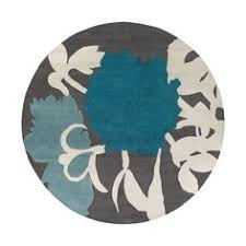 Circular Area Rugs Pop Carpet Designed By Rya G Mid Century Modern