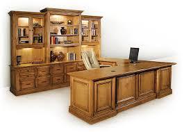 u shaped desk with 3 tier hutch stone creek furniture