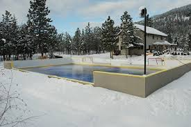 Backyard Ice Rink Plans by Rink Build Outline Outdoor Rink Builder