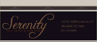 serenity nail salon u0026 skin care serving mansfield arlington tx