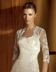 wedding dress jacket 48 49 sweet 3 4 sleeve length lace wedding jacket
