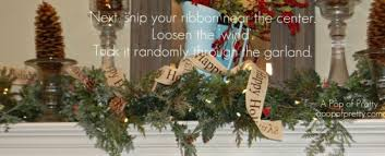 How To Decorate Garland With Ribbon How To Decorate A Christmas Mantel Mantle Step By Step Tutorial
