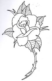 best 25 rose outline ideas on pinterest simple rose rose