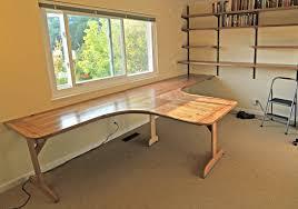 furniture long computer desk designescent fabulous home interior