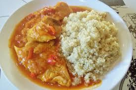comment cuisiner le colin filets de colin sauce tomate et quinoa