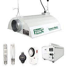 Virtual Sun 600w Hps Mh Grow Light Hood Reflector Magnetic Ballast