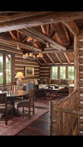 1069 best images about log houses on pinterest montana log what a cozy space dream home