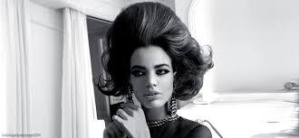 sixties hairstyles glam w rianne ten haken