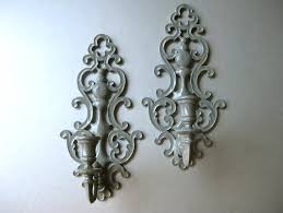 Wall Sconces Candles Holder How To Install Candle Holder Sconces Marku Home Design