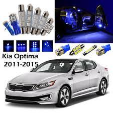 Kia Optima 2015 Interior 12 Blue Led Interior Light Package Kit For Kia Optima 2011 2015 Ebay