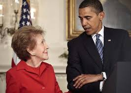 Nancy Reagan Why Isn U0027t Obama Going To Nancy Reagan U0027s Funeral