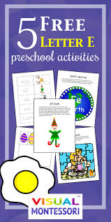 5 free preschool worksheets for preschool alphabet letter e