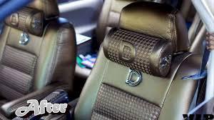 Van Seat Upholstery Marco U0027s Custom Upholstery Honda Odyssey Makeover Youtube