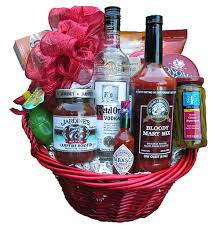 bloody gift basket the gift basket