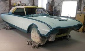 1961 Thunderbird Interior Tealbird Ford Thunderbird Pf Design
