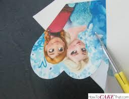 frozen anna elsa cake cake