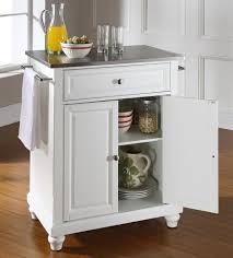 stainless steel portable kitchen island buy cambridge wood top portable kitchen island w bun