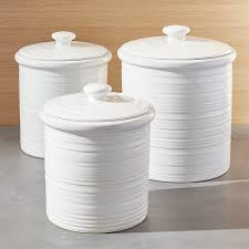 kitchen canisters white farmhouse kitchen canisters canister sets and decor ideas white