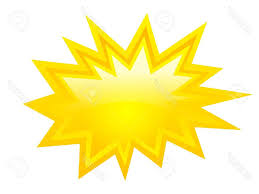 best yellow bursting icon vector clip art stock star starburst