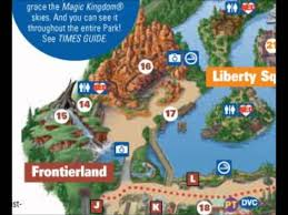 Disney World Magic Kingdom Map Frontierland Disney World Interactive Map Youtube