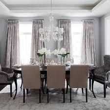Dining Room Rug Sallyl Jennifer Brouwer Design Pale Gray Blue Wall Color