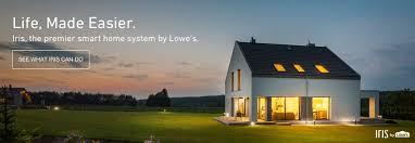 smart home shop smart home security at lowes com