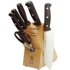 Fine Kitchen Knives by J A Henckels International Fine Edge Pro 7 Pc Knife Block Set